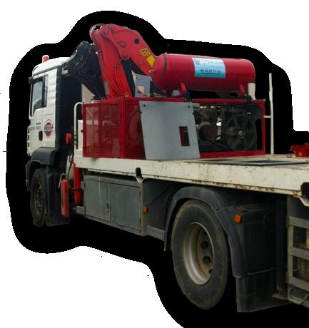dépannage compresseur de chantier et équipement véhicule de dépannage